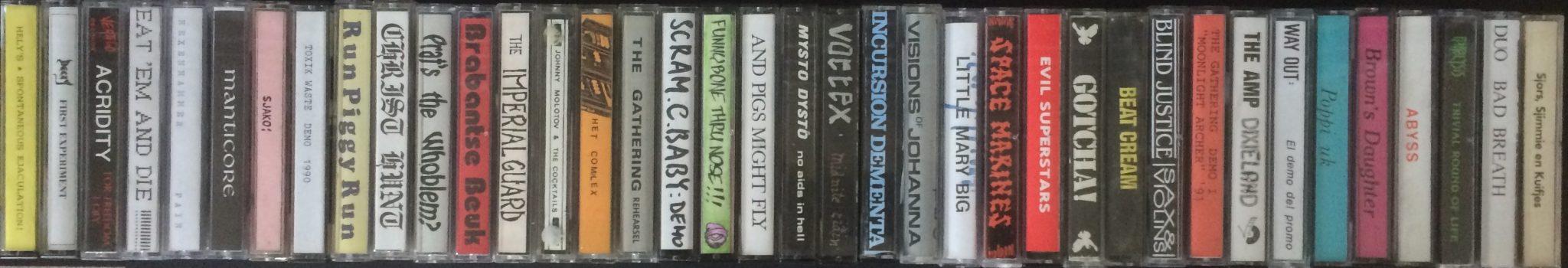Demotapes en vergeten muziek