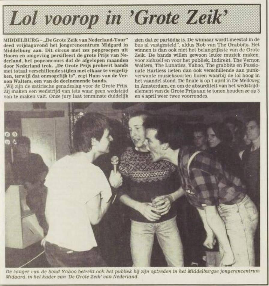 De Grote Zeik van Nederland, tweede krantenartikel