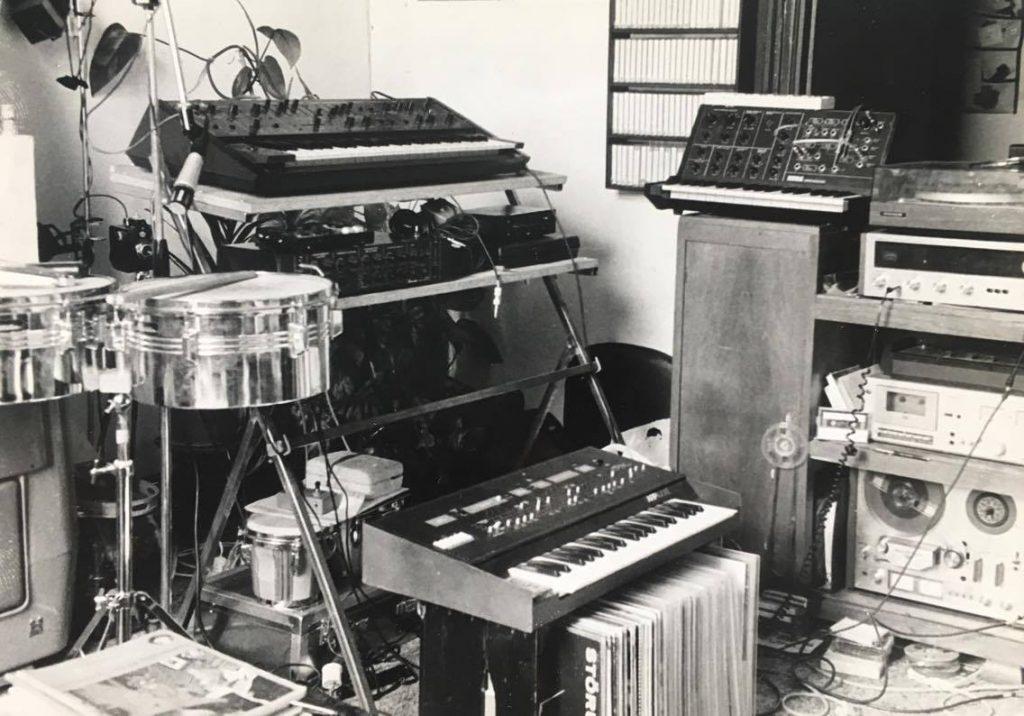 De studio van Bob Timroff (Ego Produkties, Het Chateua D'If)