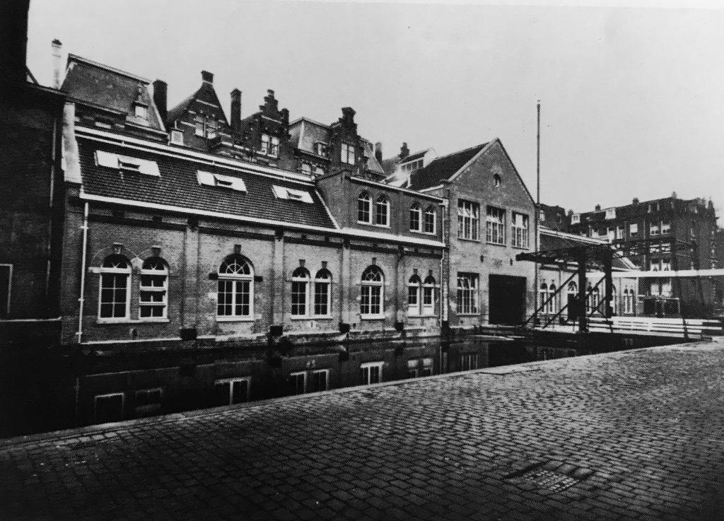 Melkweg Amsterdam was voorheen een melkfabriek