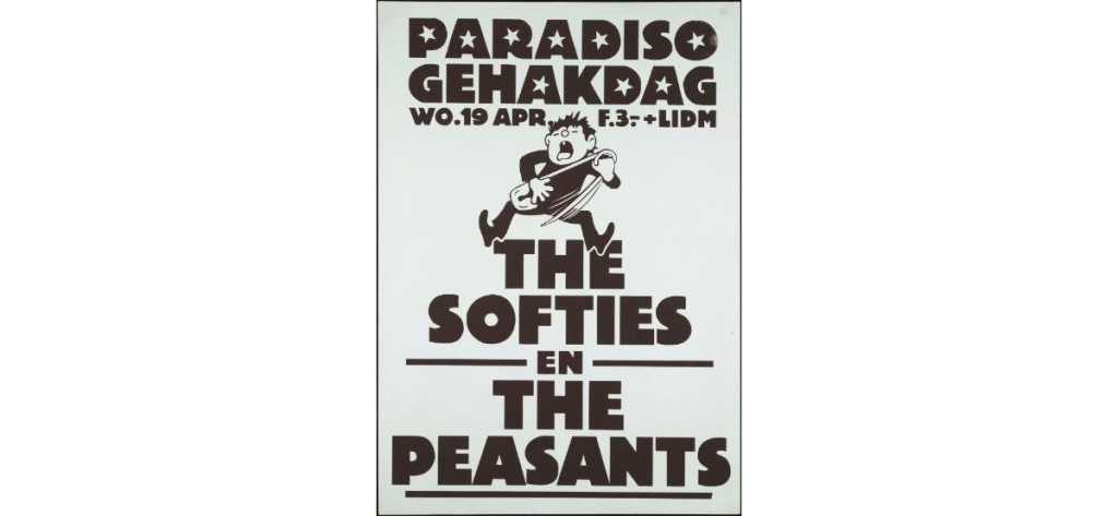 The Softies in Paradiso (19 april 1978, Amsterdam)