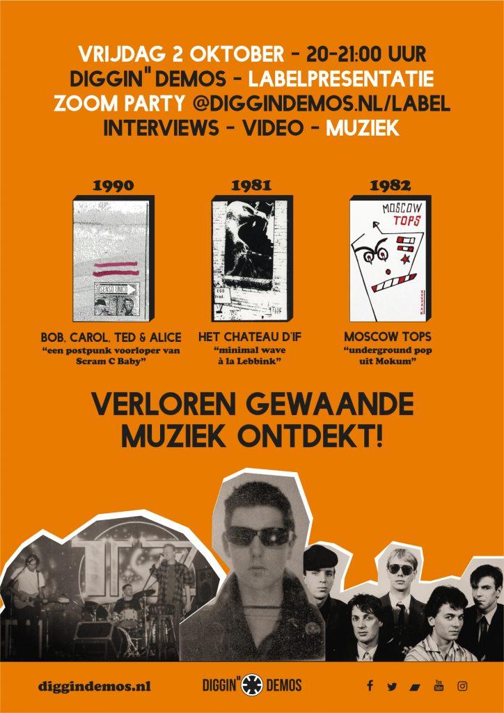 Poster van de labelpresentatie