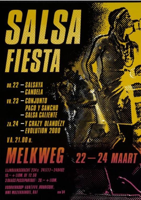 Salsa Fiesta in de Melkweg (1984)